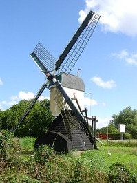 Dutch Windmill Leiden 3