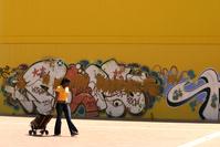 Yellow murales