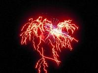 Firework lightning