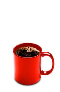 Red Mug and Coffee
