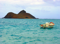 Hawaii's Lanikai beach