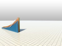 3d elevation bar graph