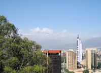 Andes around Santiago de Cile