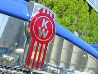 Kenworth cement truck hood 1