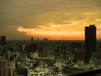 Tokyo's sunset
