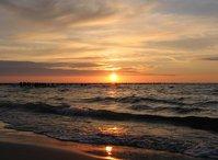 Baltic sea (sunset)