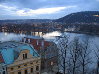 Prague, evening