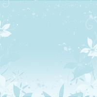 blue flowers splatter and swirls photos set 2
