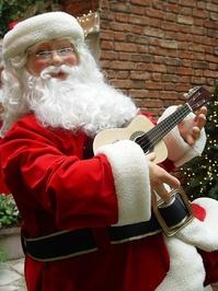 Santa Playing a little guitar