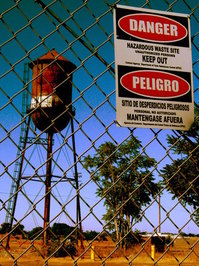 Hazardous Waste - Keep Out