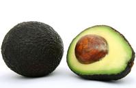 Green south african avocado pear, aka avo