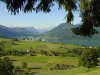 Alosen, view: Aegerisee