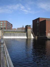 Dam & waterfall 2