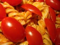 tomatos on noodles 1