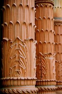 Column texture detail