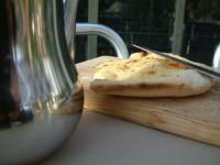 pita bread and knife 1