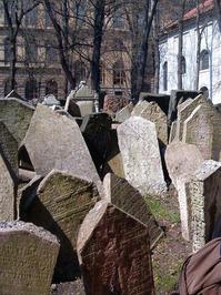 Jewish Graveyard in Prague