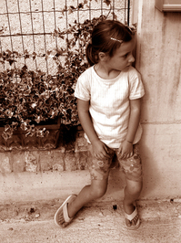 Sephia girl