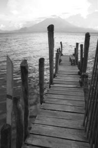 dock at Atitlan