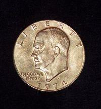 One gold Dollar 2