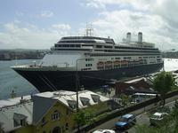 Liner Docked in Cobh