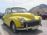 old Morris car