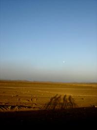 4 BIKER SHADOWS IN SAHARA