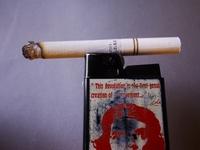 cigarette and light