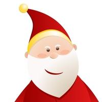 Christmas Elements - Santa 1