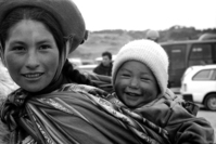 Portrait people in Cusco 1