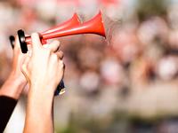 Gas horn