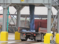Loading Blacktop Truck