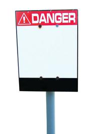 Danger! Sign 1