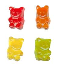 Multicoloured lollies