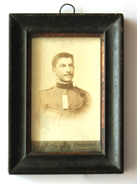 old framed picture