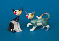 Ceramic cats