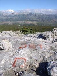 Velebit from Cvijina hillfort