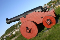 Picture of a old cannon