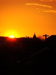 Sunset in Viana