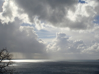 Clouds over Positano
