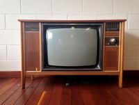 1970's Retro Television set