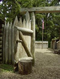 Fort Clatsop Stockade Gate