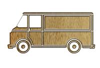 Pickup truck pictogram 1
