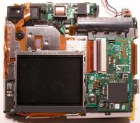 inside digital camera
