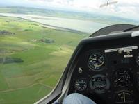 Gliding near Kinross in Scotland 4