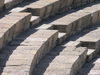 Amphitheatre stairs Kourion