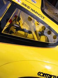 Porsche at pit stop 1