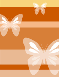 Butterfly and stripes 2