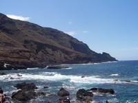 La Palma, sea and mountains
