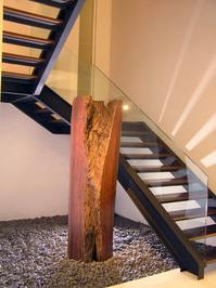 Interior Design Shots 2 - stair & wood